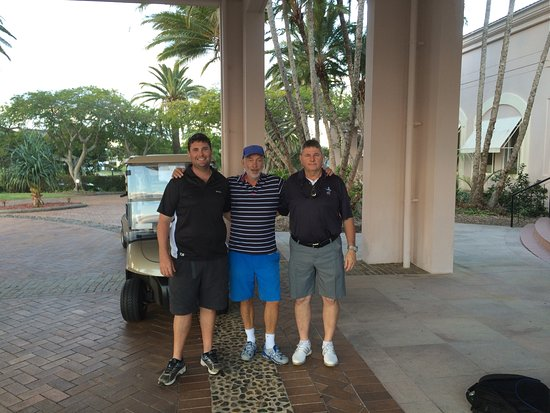 Хоуп-Айленд, Австралия: Good guys Matt and Steve