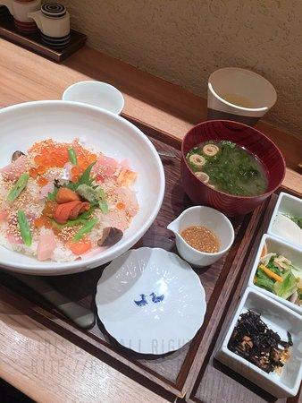 北海海鮮丼set
