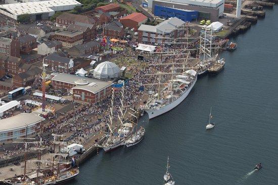 Woolsington, UK: The tall ships at Blyth