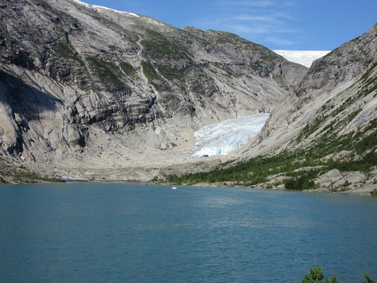 Sogndal Municipality, Norwegia: The glacier