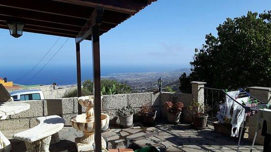 Casa Rural La Vista: Prachtig uitzicht vanaf terras