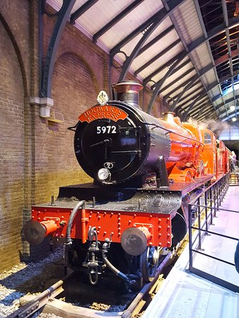 The famous Hogwarts Express