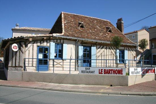 Saint-Barthelemy, France: La terrasse (en été il y a des parasols)