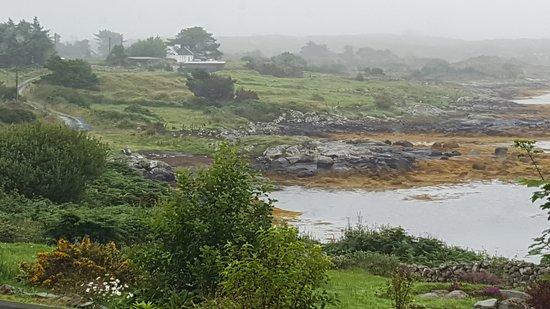 Cashel, Irlanda: Aussicht vom Frühstückstisch