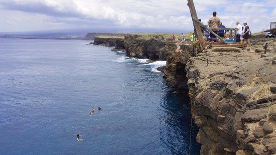 Naalehu, Hawái: ダイブ