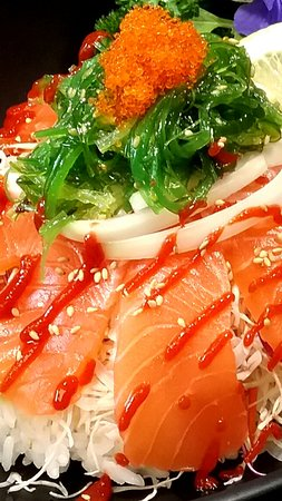 Southport, ออสเตรเลีย: Very fresh salmon