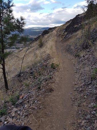 West Kelowna, Canada: The trail