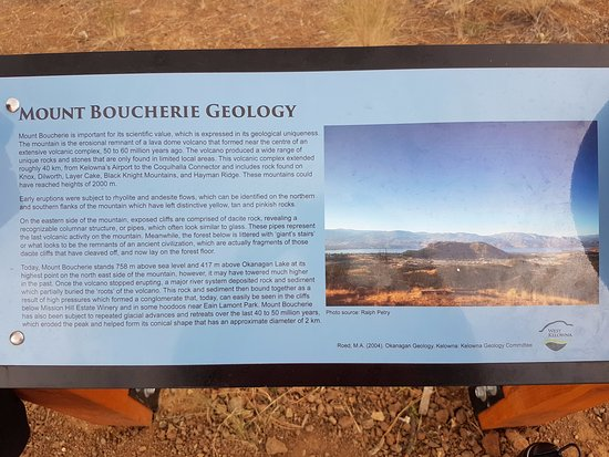 West Kelowna, Καναδάς: A little about Mount Boucherie