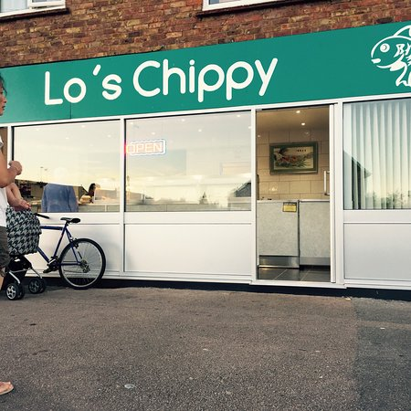 Lo's Chippy in Sittingbourne, Kent.