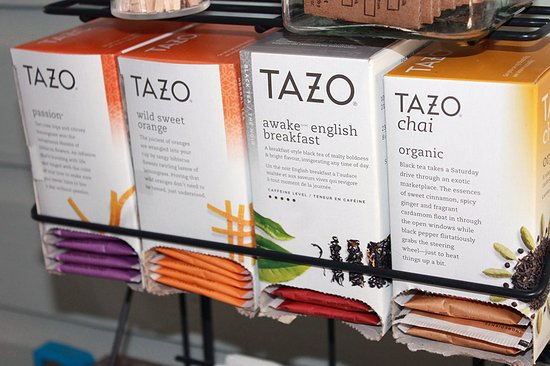 The Grand Guesthouse: Enjoy a cup of Tazo tea at The Grand