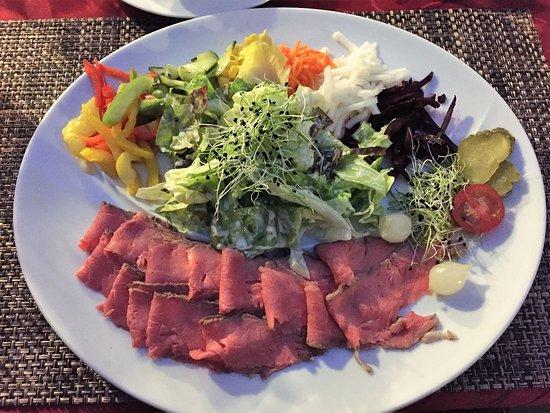ROSBIF salade en plat principal