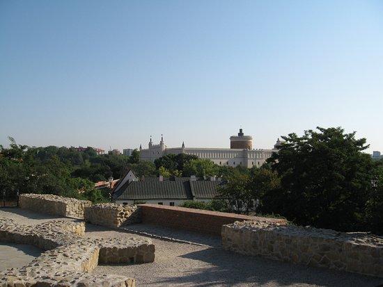 plac jak plac - widok na Zamek