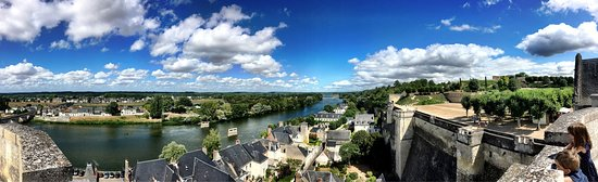 View from the chateau