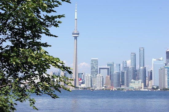 View from Olympic Island Toronto Island Park