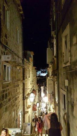 A spasso per la città vecchia