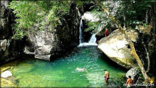 Cachoeira Hidrolandia Capara ó ES Brasil