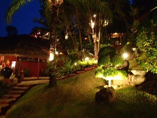 Eranda Herbal Spa: At Night