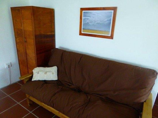 Swellendam, แอฟริกาใต้: Aardvark Double Sofa Bed