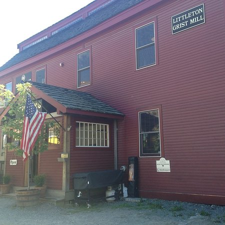 Littleton, NH : Schilling Beer co in an old grist mill