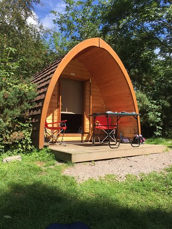 Eskdale, UK: Sunny Pillar Pod