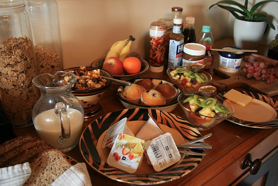 Ikhaya Safari Lodge: Frühstück für zwei Yummy ;-))
