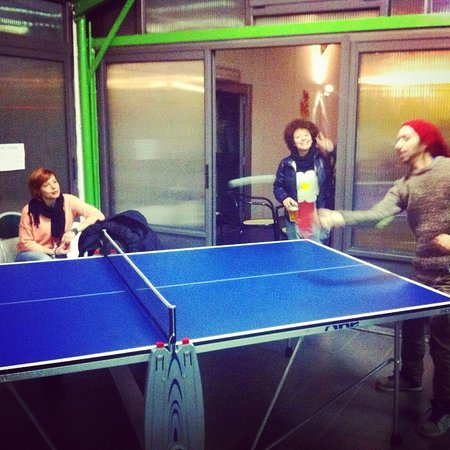 Novate Milanese, Italia: ping pong