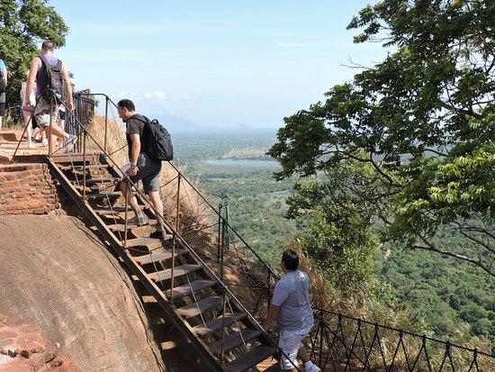 Citadel of Sigiriya - Lion Rock: Presque au sommet