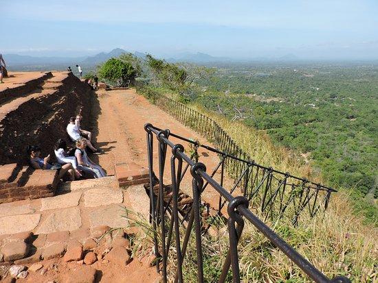 Citadel of Sigiriya - Lion Rock: Vue au sommet