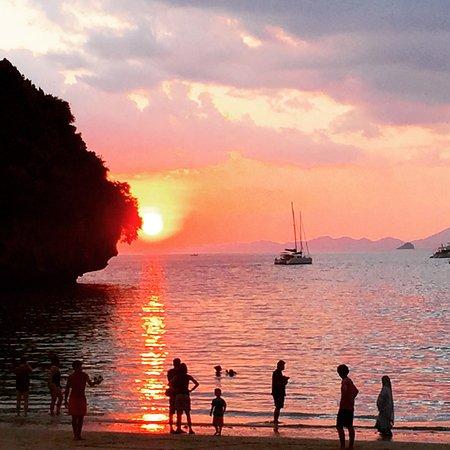 Railay Bay Resort & Spa: Stunning sunset