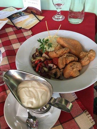 Zala County, Hongrie: Vegetáriánus tál