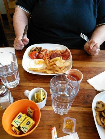 Portumna, Irlanda: Half Irish breakfast