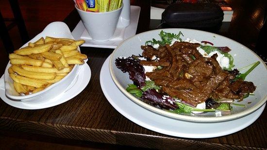 Ballincollig, Irlanda: Hot beef salad