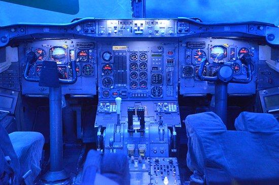 Blagnac, Prancis: Cabine de pilotage A300