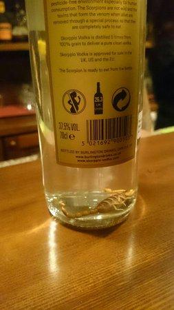 Bugnara, Italia: Vodka allo scorpione