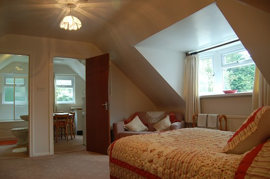 Rudry, UK: Family en suite room