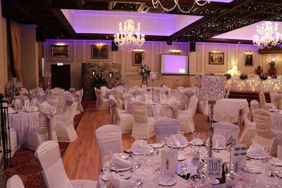 Wedding Reception Area Picture Of Cabra Castle Hotel Kingscourt