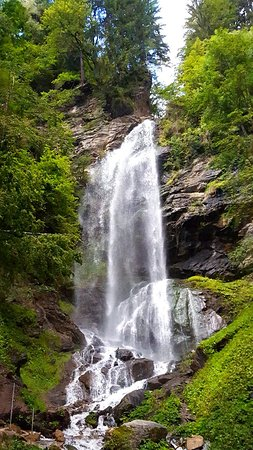 Sattendorf, Østrig: Finsterbach Wasserfälle