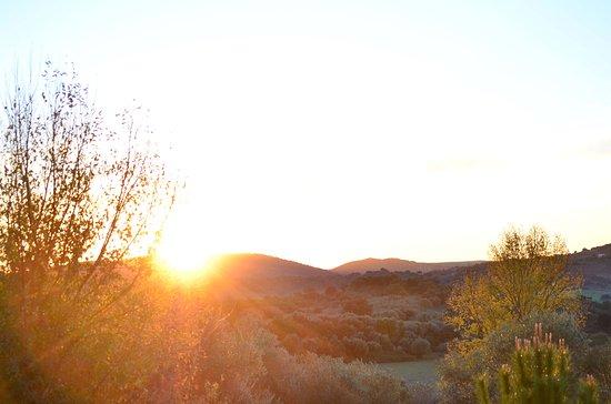 El Bosque, Spanien: Sunset