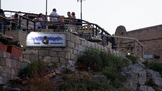 Thalassographia: terrazze del ristorante