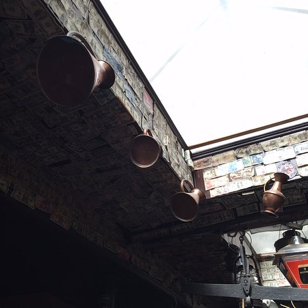 The Brazen Head: inside the pub