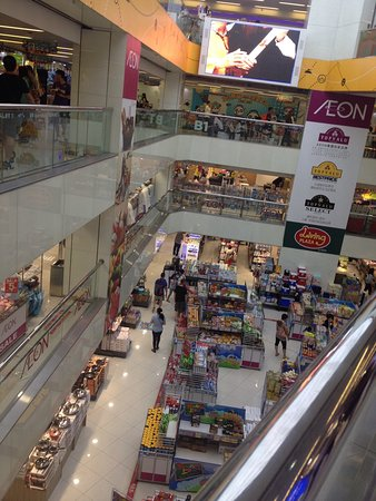 The Hotel Is Atop Panda Place A Shopping Centre With Aeon