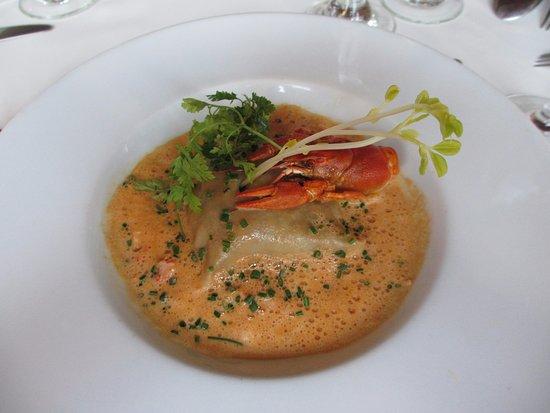Issigeac, Frankrig: Crayfish starter