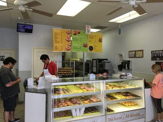 McKinney, TX: Interior of restaurant