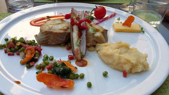 Libourne, Frankreich: plat poisson