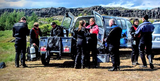 DIVE.IS - Day Tours: Silfra Diving with DIVE.IS