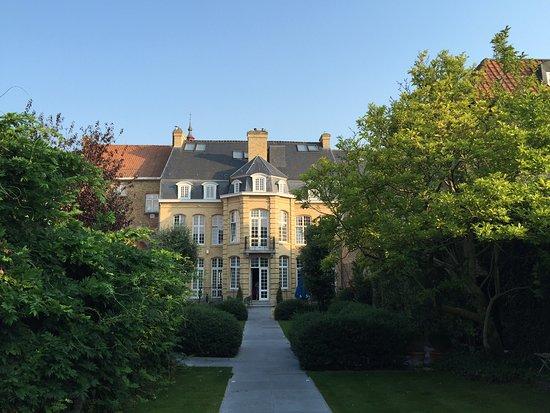 Diksmuide, Belgia: Bâtiment acceuil et petit dejeuner
