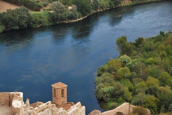 Miravet, Espagne : vistes castell