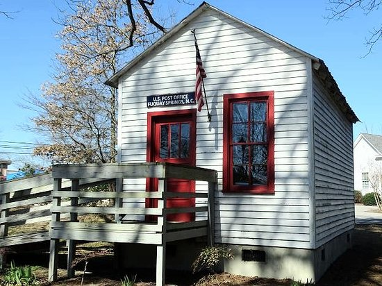Museums of Fuquay-Varina: post office