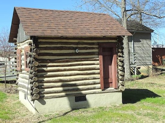 Museums of Fuquay-Varina: other side of building with no identification