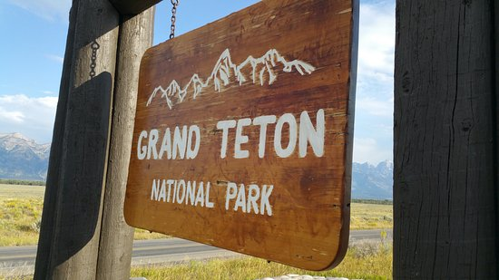 Grand Teton: Welcome to the park